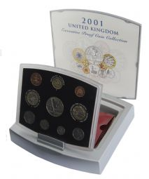 2001 Royal Mint Executive Proof Set for sale